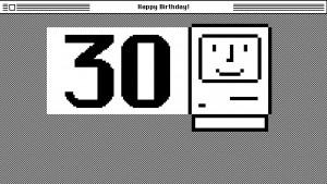 Mac cumple 30 años: el aniversario de una revolución