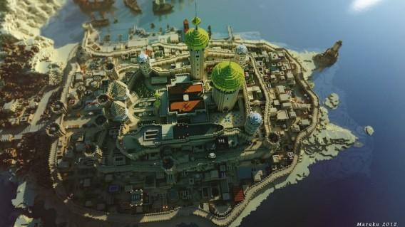 Le Trône de Fer version Minecraft