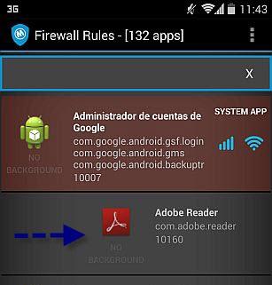 Controle de apps conectados no Mobiwol