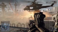 Fans de Battlefield 4 derriban helicóptero lanzándole coche en llamas