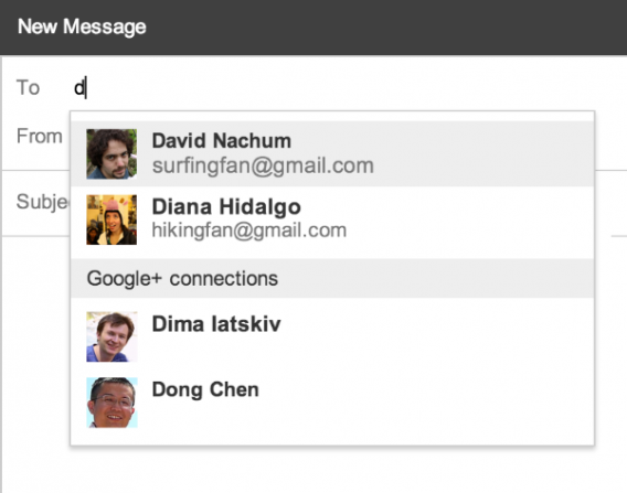 Desconhecidos do Google+ podem encontrar seu endereço do Gmail facilmente