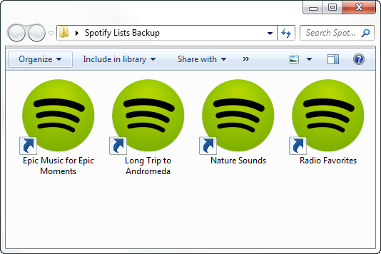 Move your Spotify playlists to your new account