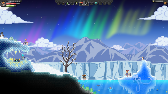 Starbound is like Terraria, but in space