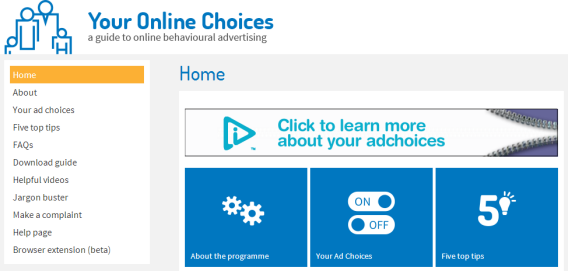 Your Online Choices