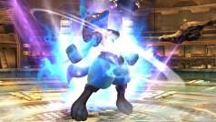 Super Smash Bros. Wii U revela el contraataque del Pokémon Lucario