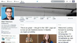 Twitter prueba un rediseño radical que imita a Facebook, Pinterest o Google+