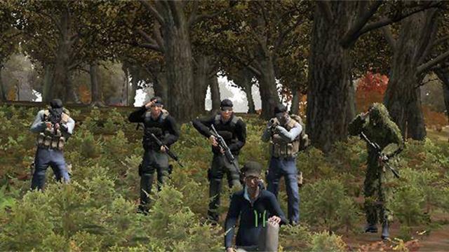 Supervivientes llegan a Chernarus