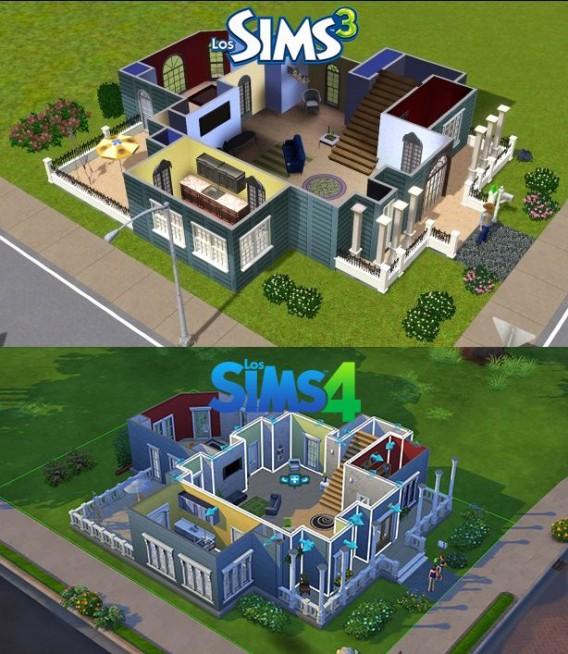 Los sims 4 vs los sims 3 nuevas comparativas gr ficas con for Mods sims 4 muebles
