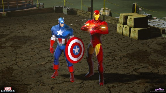 Marvel superheroes to the rescue!