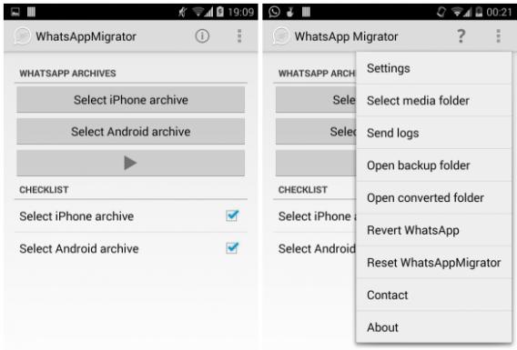 WhatsApp Migrator