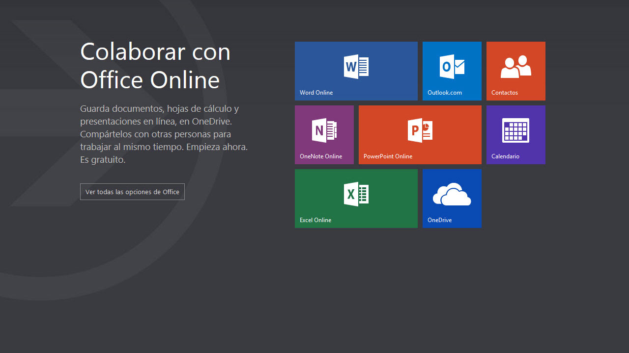 Microsoft reemplaza las Office Web Apps por la suite gratuita Office ...