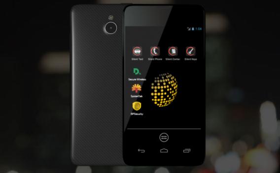 Blackphone com Android focado em segurança