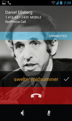 App faz ligações seguras para seus contatos