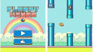 Flappy Wings es el clon de Flappy Bird de más éxito en iPhone y iPad
