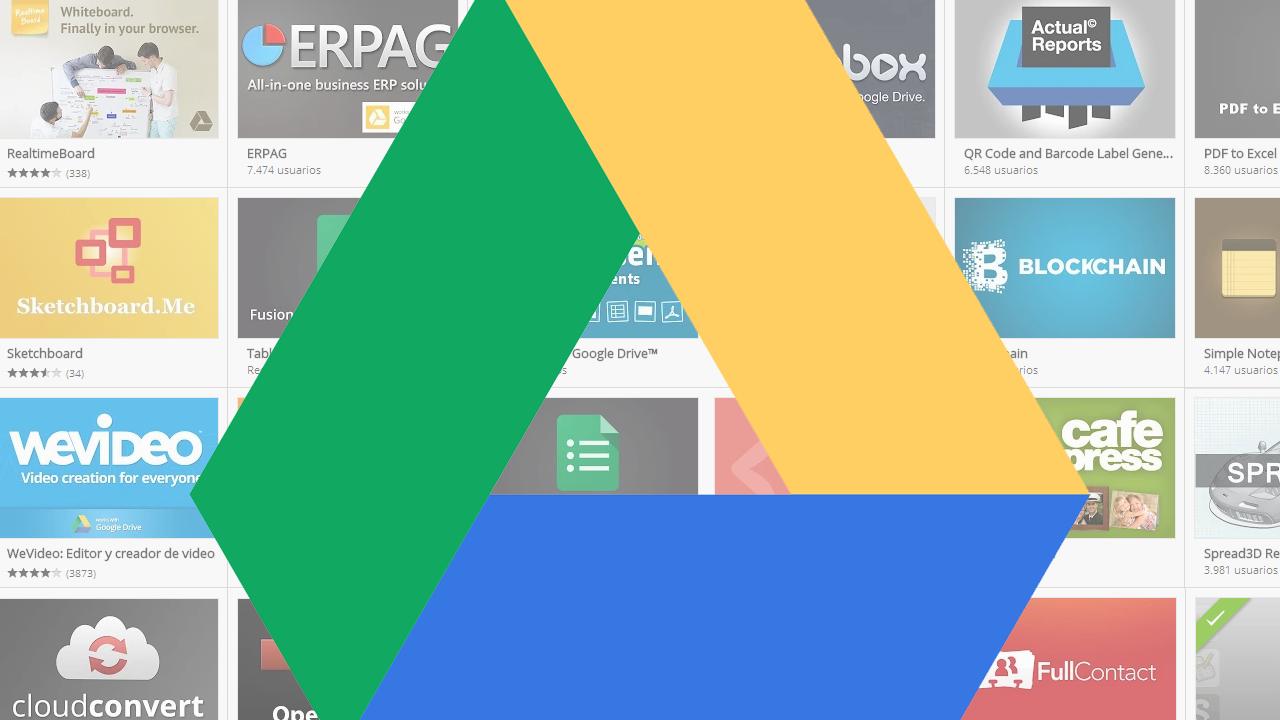 Cómo conectar más aplicaciones a Google Drive