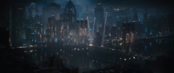 Gotham city has never been so detailled