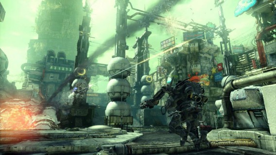 Hawken é um jogo gratuito com gráficos de última geração