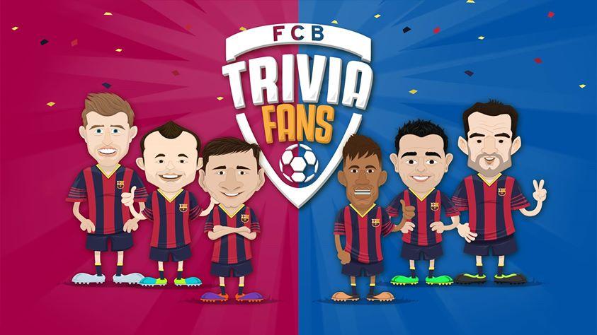Llega la app FCB Trivia Fans, un trivial gratis para los fans del Barça