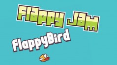 "Nuevo clon gratuito de Flappy Bird: Flappybalt o ""pájaros vs pinchos"""