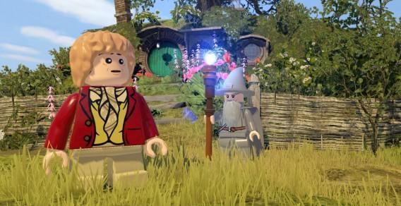 As vozes originais dos atores estarão presentes no LEGO Hobbit