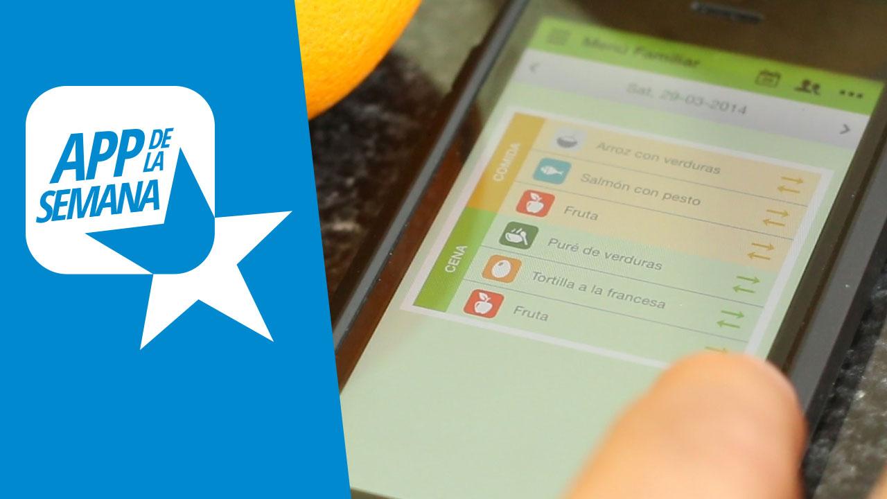 Planifica tu menú con Menuterraneus, nuestra app de la semana
