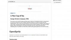 OpenSpritz, el lector gratuito que te hará leer una novela en 90 minutos