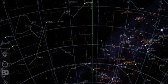 Virtuelles Planetarium