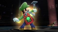 Luigi aspirará a sus rivales en Super Smash Bros. Wii U