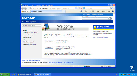 Download old updates from the Microsoft website