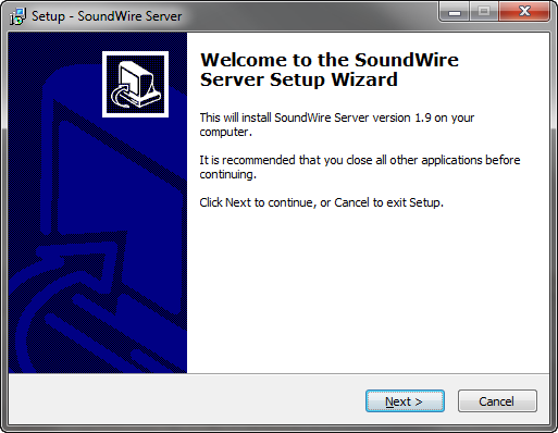 Installer Soundwire Server sur Windows