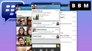 BlackBerry Messenger incorpora stickers, documents adjuntos y fotos para grupos