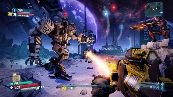 Armas de raio laser formam parte do arsenal disponível em The Pre-Sequel