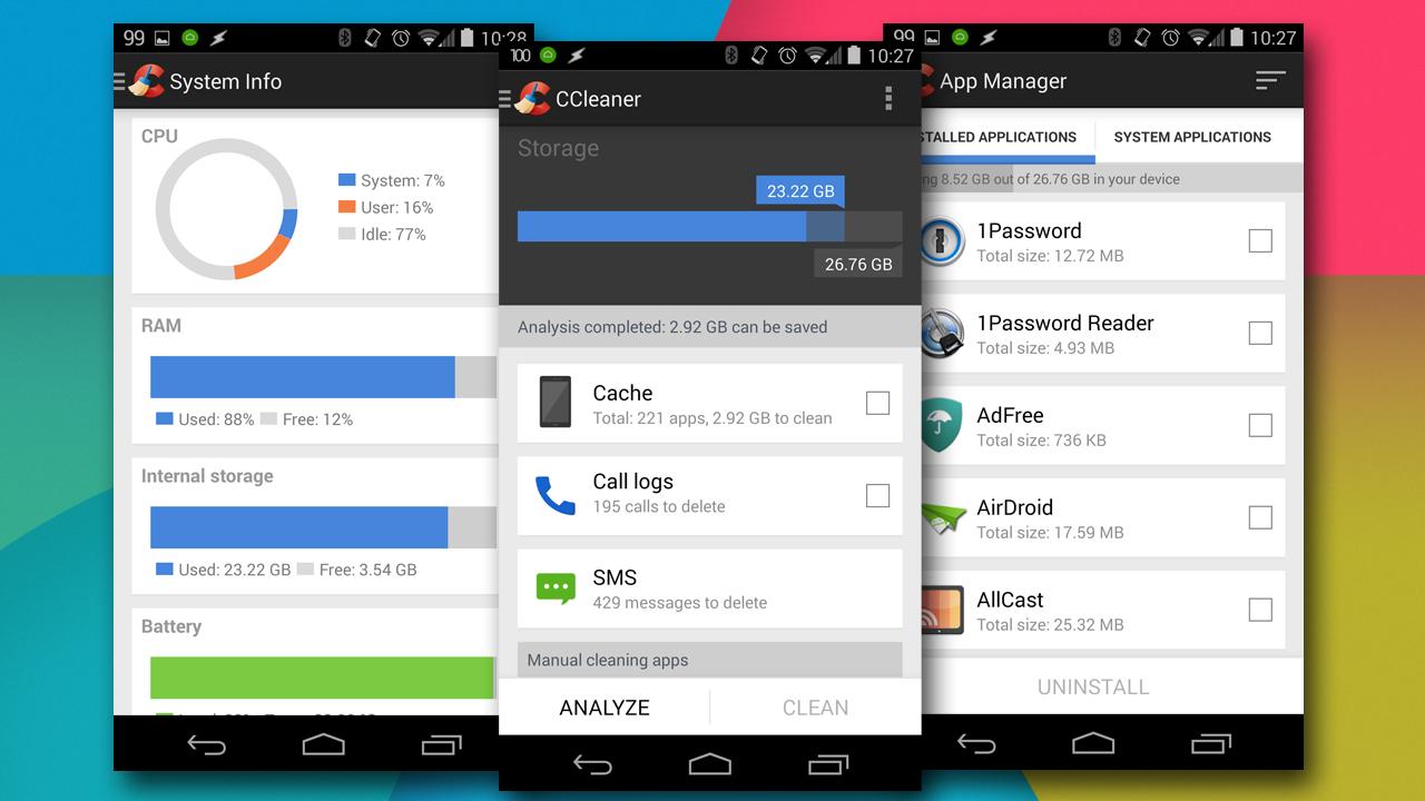 Prueba la versión beta de CCleaner para Android antes que nadie