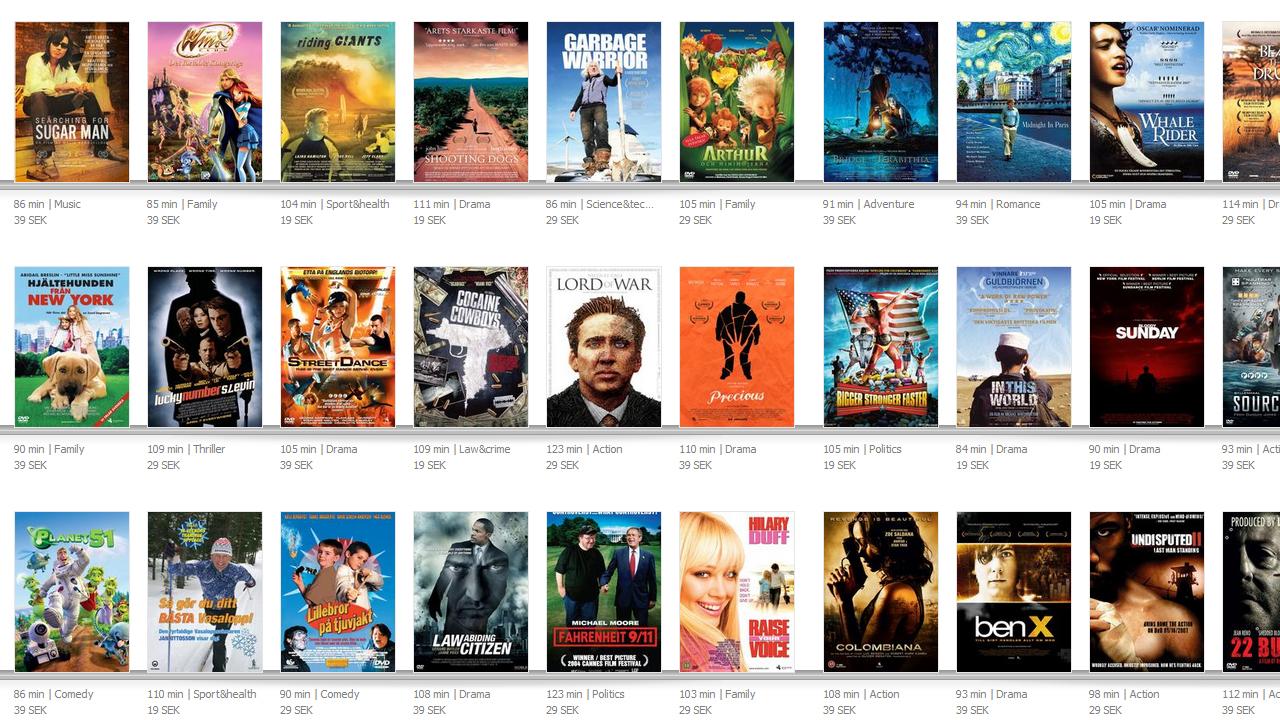 Ver películas gratis de manera legal es posible