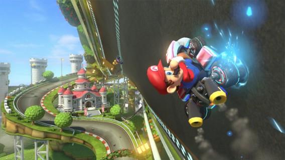 Sistema antigravidade e multiplayer online são boas novidades de Mario Kart 8