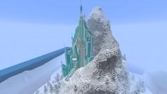 En Minecraft existe el castillo de hielo de Frozen: imágenes de muestra