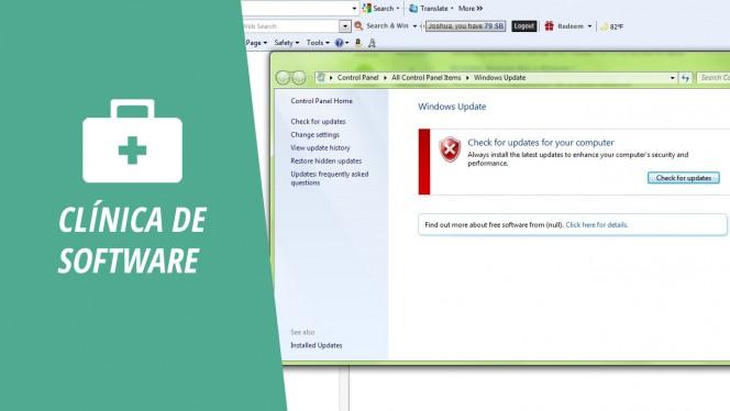 """Solución a """"Windows no puede buscar actualizaciones"""""""