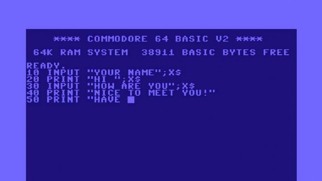 10 GOTO 50: revive los tiempos de BASIC en tu navegador