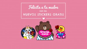 Dile a tu madre que la quieres, con estos stickers