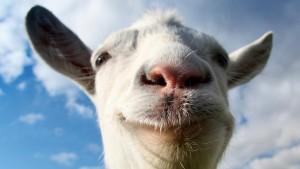 Un monstruo irrumpe en Goat Simulator
