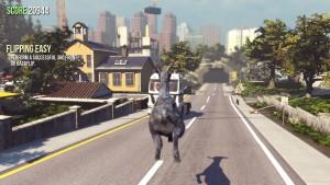 Goat Simulator parece un juego de Mario Bros. con este mapa