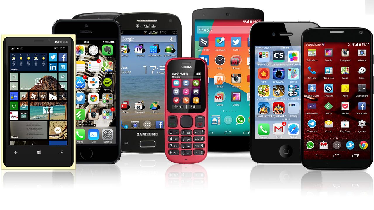 Estos son nuestros teléfonos