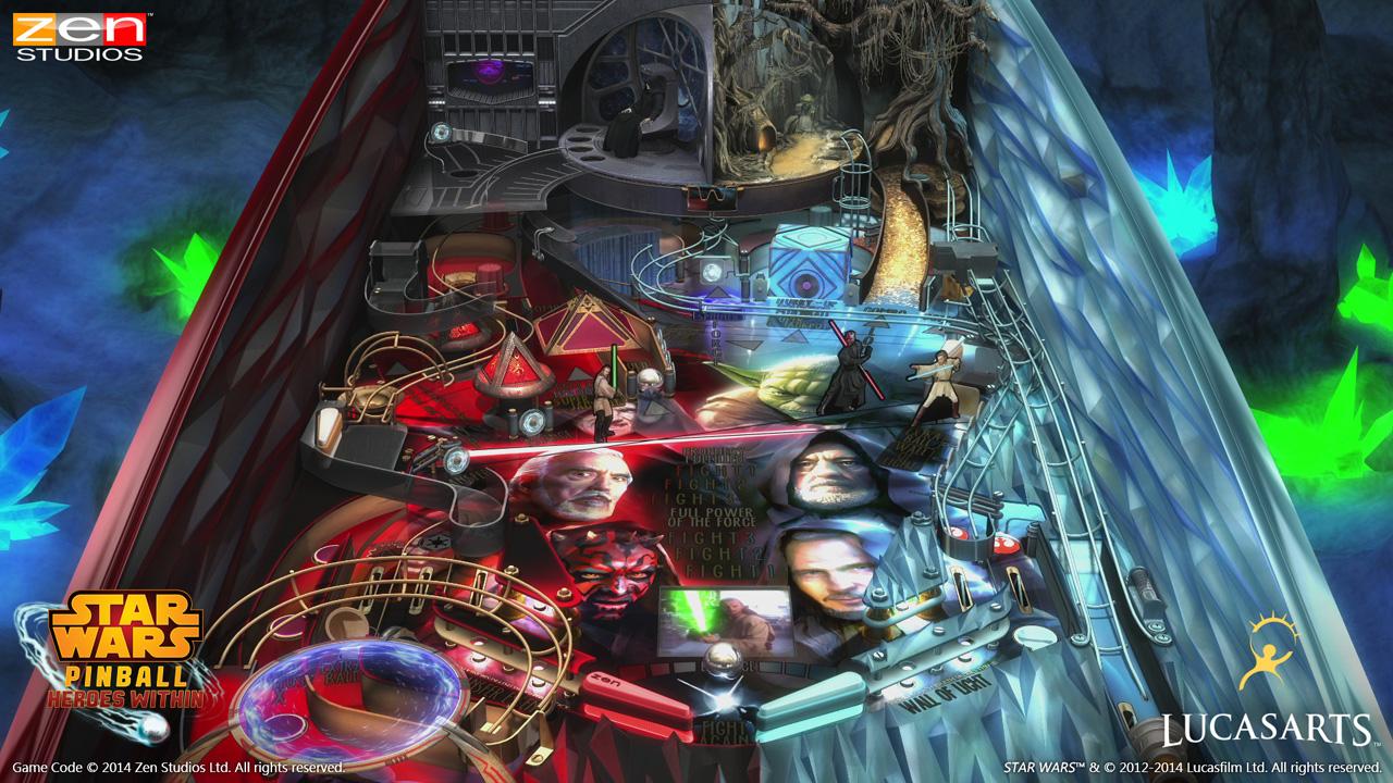 Star Wars Pinball muestra su máquina Masters of the Force