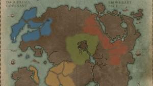 Se revela el mapa completo de The Elder Scrolls Online: 16 zonas