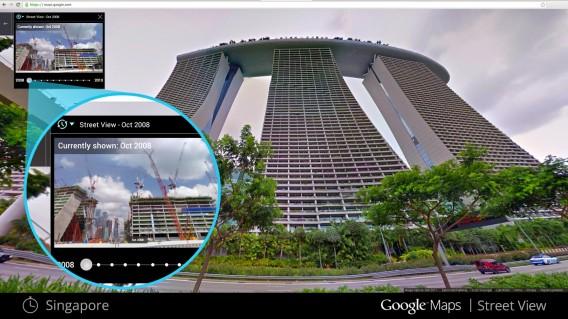 Novo recurso do Google Earth faz você viajar para o passado