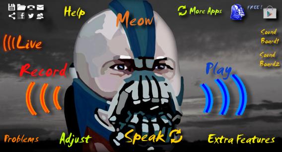 Imite a voz do tenebroso Bane com o app Bane Talk