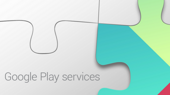 Google play services header