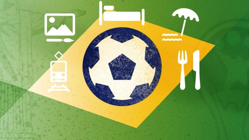 Mundial de Fútbol 2014: 11 apps para aprovechar tu viaje a Brasil
