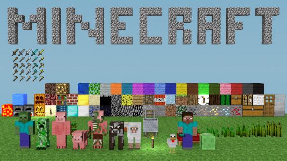 Com a ajuda dos usuários, Minecraft é um bom exemplo de sucesso