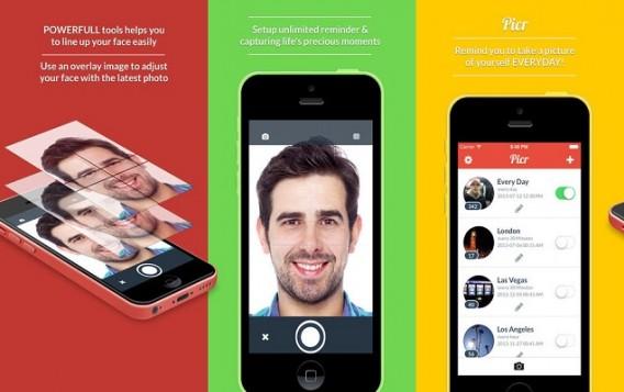 Selfies leicht gemacht: Picr
